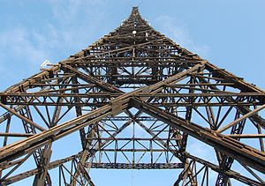 Gliwice Radio Tower - Timber structure