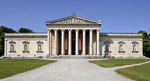 Glyptothek - The Glyptothek in Munich