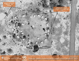 Satellite Sentinel Project - Evidence of Northern-aligned forces deployed to Abyei Region, Sudan (21 March 2011)