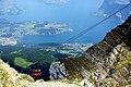 Gondola and Mt. Pilatus, Lucerne.jpg