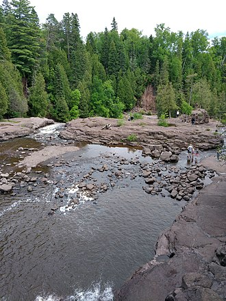 Gooseberry Falls State Park - Image: Gooseberry Falls 1