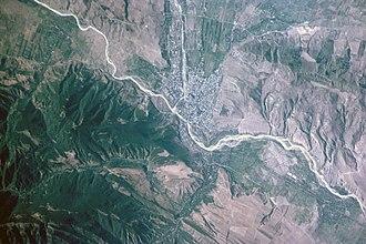 Kura (Caspian Sea) - Kura (Mtkvari) near Gori, Georgia