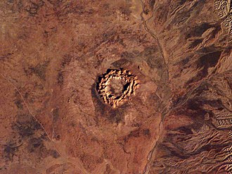 Gosses Bluff crater - Image: Gosses Bluff Northern Territory Australia