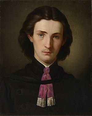Gottfried Lindauer - Self-portrait, 1862