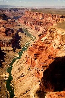 Grand canyon nationalpark wikipedia for Grand canyon north rim mappa della cabina