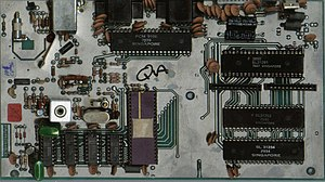 Fairchild Channel F - PCB Scan of the Grandstand Video Entertainment Computer (UK Channel F II variant).