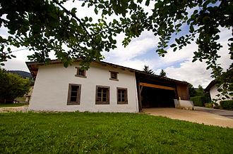 Grandval, Switzerland - The Maison du Banneret Wisard in Grandval