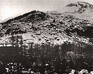 Granite, Montana ghost town in Granite County, Montana, United States