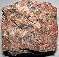Granite (Cripple Creek Granite, Mesoproterozoic, 1.46 Ga; Park County, Colorado, USA) 6 (30885174064).jpg
