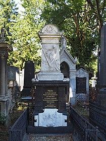 Grave of Leopold Kompert and his wife Marie Kompert (née Löwy), Vienna, 2017.jpg