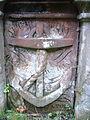 Gravestone inscription in Knarsdale graveyard.JPG