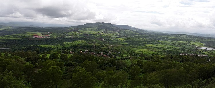 Green Valley of Panhala, an view from Jotiba Ghat Road