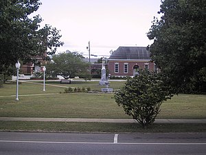 Greenville, Alabama - Image: Greenville AL Confederate Park