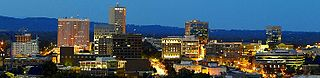 Skyline of Downtown Greenville