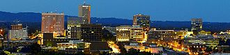 The Carolinas - Greenville, the largest metro area of South Carolina and a symbol of the growth in the state.