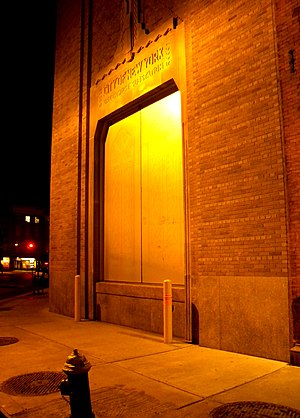 IND Eighth Avenue Line - 13th Street power station