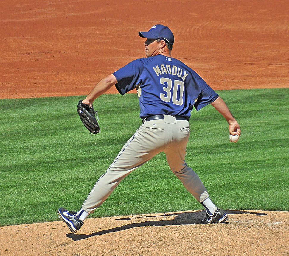 Greg Maddux 2008