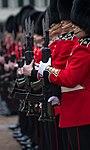 Grenadier Guardsman wearing their Summer Guard Order Red Tunics. MOD 45159548.jpg