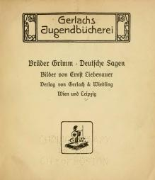 deutsche sagen - Bruder Grimm Lebenslauf