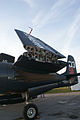 Grumman F7F-3P Tigercat Here Kitty Kitty BuNo 80390 NX700F LWing Fold Dawn SNF 04April2014 (14583034241).jpg