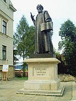 Grzegorz z Sanoka-monument