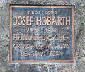 GuentherZ 2011-09-10 0365 Horn Hamerlingstrasse Denkmal Josef Hoebarth Tafel.jpg
