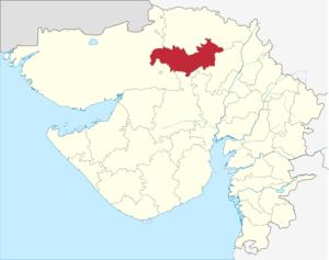 Patan district - Image: Gujarat Patan district