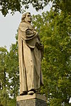Gulbene, statue of Martin Luther.JPG