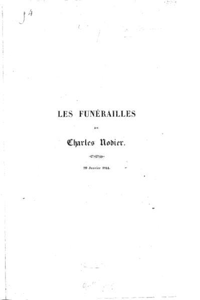 File:Guttinguer - Les Funérailles de Charles Nodier, 1844.djvu