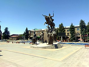 Battle of Avarayr - Memorial to the Battle of Avarayr in Gyumri, Armenia
