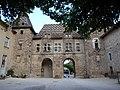 Hôtel de ville (toit vernissé) de Saint Antoine l Abbaye - monument historique PA00117247 - FRANCE - Alain Van den Hende - Licence CC 4 0 -2069.jpg