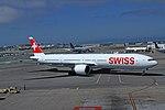 HB-JNH Boeing 777-3DE Swiss SFO 28-05-17 (35907233071).jpg