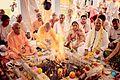 HH Kratu Das ji Maharaj at Aligarh Temple Pujan.jpg