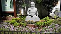 HK 上環 Sheung Wan 香馨里 Heung Hing Lane garden stone sculture 神農氏 Wing Lok Street Queen's Road West Sept-2014.jpg