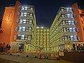 HK 深水埗 SSP 美荷樓青年旅舍 YHA Mei Ho House Youth Hostel - Block 41 Shek Kip Mei Estate 巴域街 Berwick Street Sham Shui Po Oct-2013 evening courtyard F01.JPG