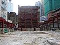HK 西營盤 Sai Ying Pun 第三街 Third Street construction site inside Aug 2016 DSC.jpg