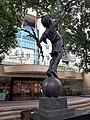 HK CWB 銅鑼灣 Causeway Bay 高士威道 66 Causeway Bay Road 香港中央圖書館 Hong Kong Central Library flagpoles October 2019 SS2 02.jpg