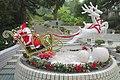 HK Park 香港公園 Santa Claus vehicle decoration December 2018 IX2 01.jpg