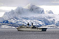 HMS Albion off the coast of Norway. MOD 45147695.jpg