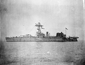 HMS General Wolfe (1915) - HMS General Wolfe in 1918