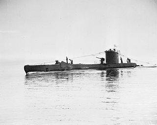 HMS <i>Unruly</i> submarine