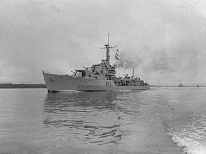 HMS Zodiac - HMS Zodiac 1945 IWM FL 21957