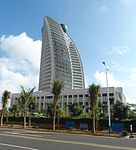HNA Building (New Haihang Building), Hainan Airlines headquarters - west face - 01.JPG