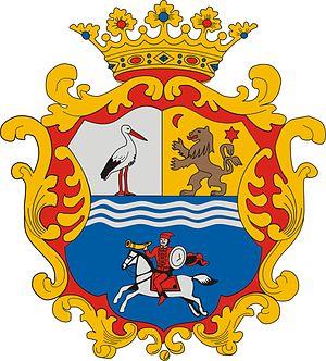 Magyar Kupa (men's water polo) - Image: HUN Jász Nagykun Szolnok megye COA