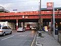 Hackney, A104 Dalston Lane railway bridge - geograph.org.uk - 627209.jpg