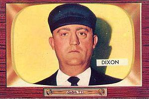 Hal Dixon (umpire) - Image: Hal Dixon 1955