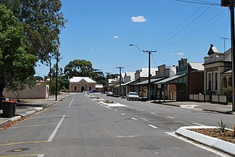 Hamley Bridge, South Australia - Light St in Hamley Bridge