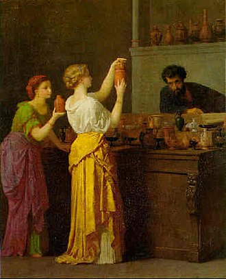 Jean-Louis Hamon - Image: Hamon Jean Louis Old China Shop (Pompeii)