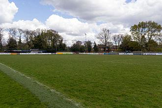 Hampton & Richmond Borough F.C. - Beveree Stadium in April 2016