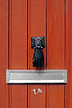 Hand Shaped Door Knocker, Guérande, France.JPG